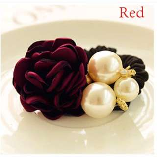 Red rose hairbands