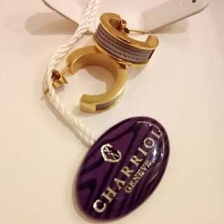 REPRICED Charriol Forever Young Two Tone Earrings