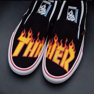 Sepatu Vans x Thrasher Original