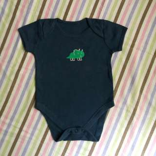 Mothercare Blue Onesie For 6-9M Baby Boy
