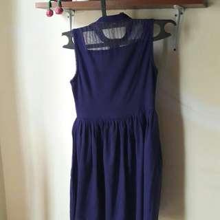 Dress ungu by KIYO