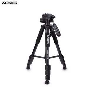 Zomei Q111 Portable Pro Camera Travel Tripod Lightweight Stand for DSLR Morroless camera