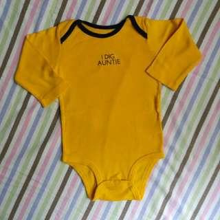 Carter's Baby Statement Onesie For 9-12M Baby Boy