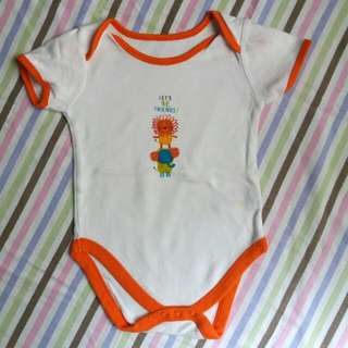 Mothercare Animal Friends Onesie For 12-18M Baby Boy