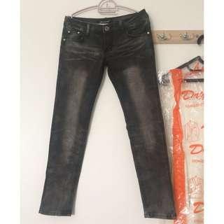 Preloved jeans hitam