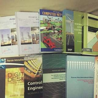 Electrical Engineering Text Books