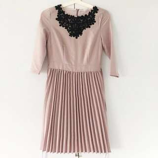 Light Mauve Work Dress