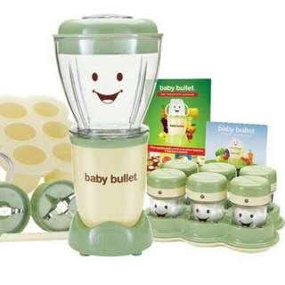 BABY BULLET FOOD MAKER