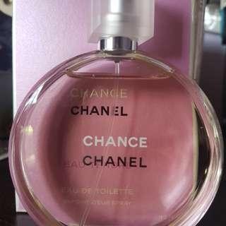 Chanel chance 100 mls