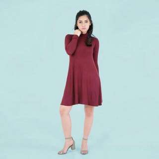 HTP Ribbed Dress