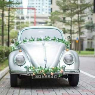Vintage Car Rental for Wedding!