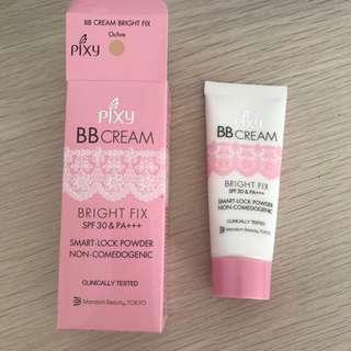 Pixy BB Cream Bright Fix SPF 30 in Ochre 15 ml Travel Size