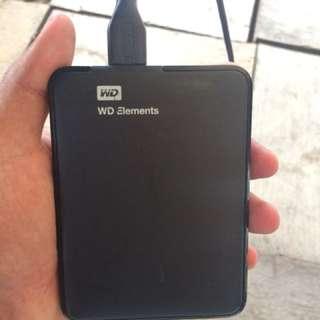Western Digital 500gb Ext HDD