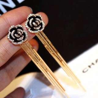 Chanel No. 5 earrings