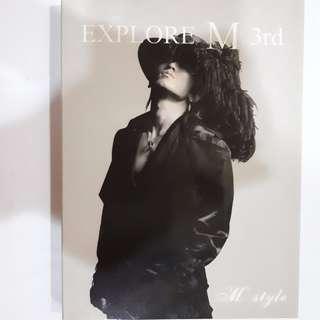 Lee MinWoo 3rd album - Explore M