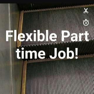 Part time flexible job