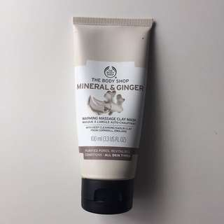 THE BODY SHOP MINERAL&CLAY MASK