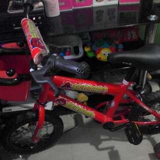 Bike for kids(spiderman)
