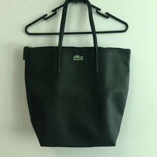 Lacoste black tote bag