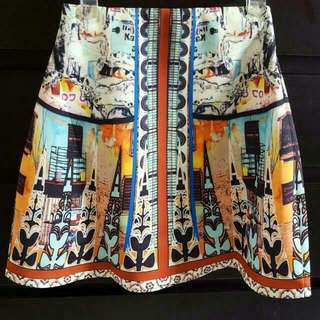 Love Bonito Brown Ophelie Flare Skirt