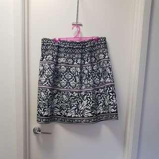 Tokito patterned skirt size 16
