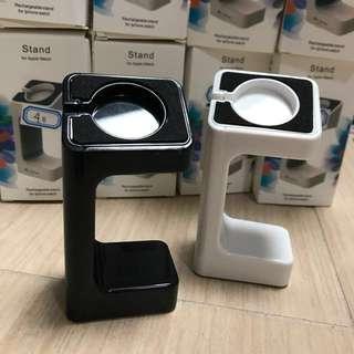 全新 黑色丶白色 Apple Watch 充電座 Series 1 Series 2 38mm 42mm