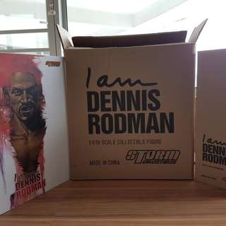 BNIB I am Dennis Rodman deluxe box. This set has 2 figures. Open for inspection only.no low ballers