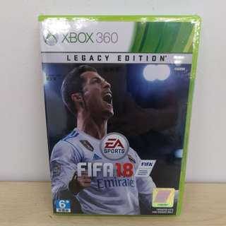 (Brand New) XBox 360 FIFA 18 /Asia