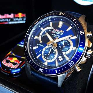 (NEGOTIABLE) Brand New Casio Edifice Limited Edition Watch RedBull V8 Racing Australia