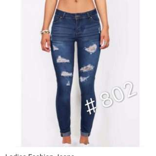 Tattered jeans(size 32)