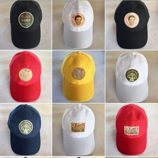 Mens Baseball Patch Cap (Authentic Quality)
