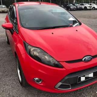 Ford Fiesta 1.6 L Auto Tahun 2012