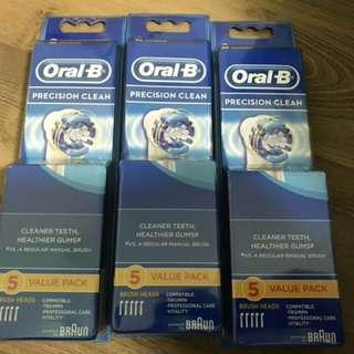 Oral B Precision Clean - 5 Refills(each)