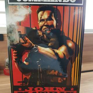 BNIB hottoys MmS 276 commando -John matrix. Open only for inspection. No low ballers