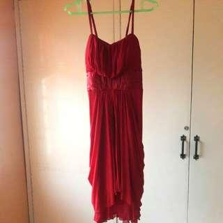 Red Semi formal dress