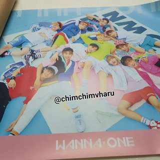 Wanna One Poster Pink ver. - Wanna One 1st Mini Album