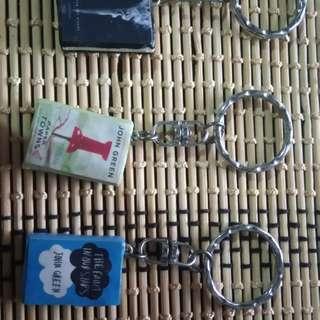 Book Keychains