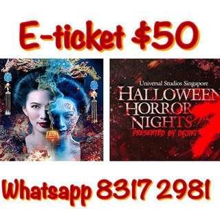 Halloween Horror Night                                     Halloween Horror Nights
