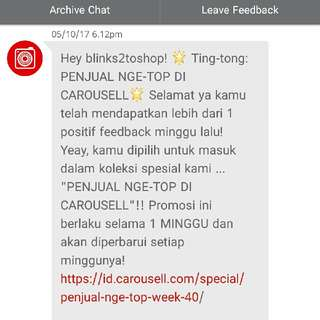 Thank You Carousell (2nd)