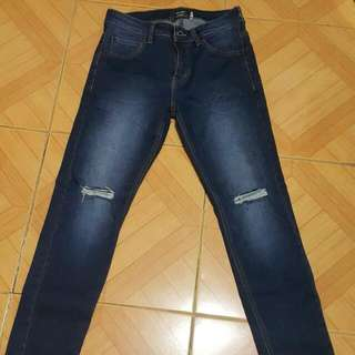 Oxygen Skinny Ripped Jeans