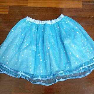 4 to 6y blue skirt