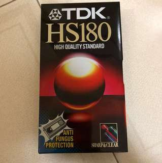 TDK VHS Video Tape