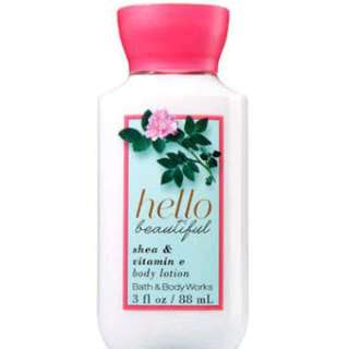 New- Bath & Body Works Hello Beautiful Body Lotion - Signature Collection