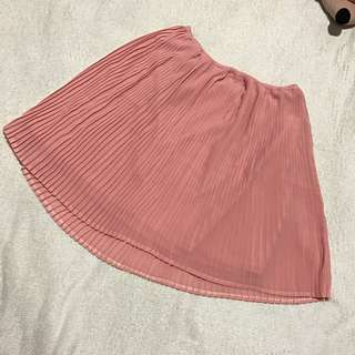 For Me pleated skirt