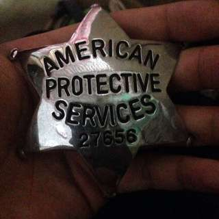 America Police Badge