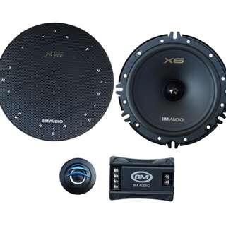 全新汽車喇叭套裝 BM Audio F-628-X6 Component Speakers System