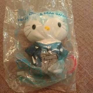 全新 Hello Kitty Daniel 婚禮 和服 娃娃 玩偶