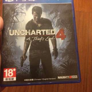 Ps4 秘境探險4 盜賊末路 uncharted 4 a thief's end