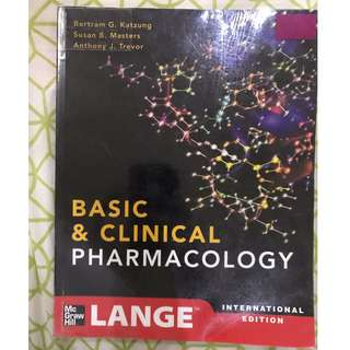 Katzung Basic and Clinical Pharmacology (12th Edition) International Edition - Katzung, Masters, Trevor