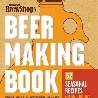 Beer Making Book (Brooklyn Brewshop)